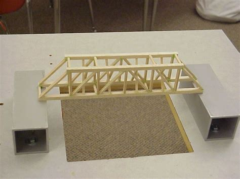 balsa wood bridge designs balsa wood projects for free woodworking projects