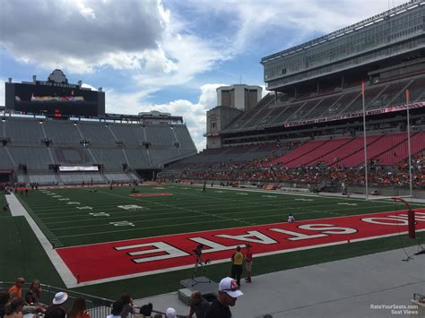 Ohio Stadium Seating Chart With Seat Numbers