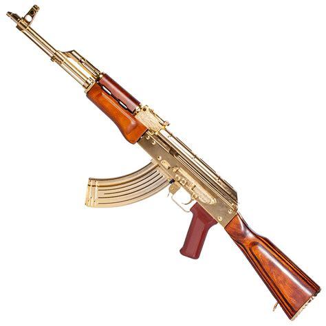 G&G Gold Plated GKM Airsoft Rifle Canada | Gorilla Surplus