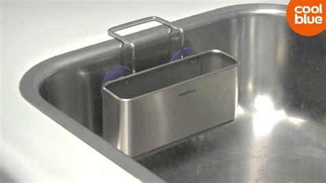 Simplehuman Sink Caddy Slim by Simplehuman Gootsteen Organiser Slim Line Up Videoreview
