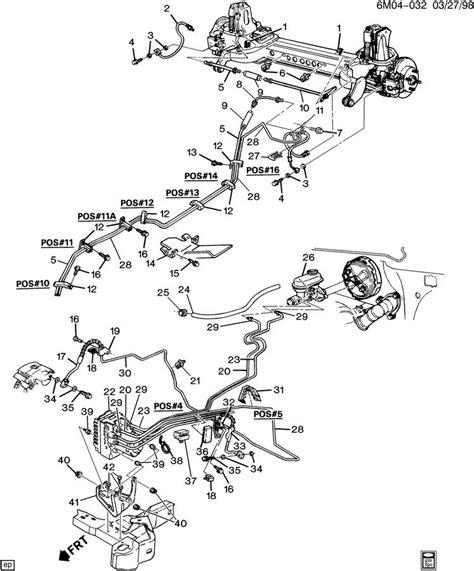 Cadillac Deville Hose Vacuum Power Brake Boos