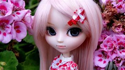 Doll Wallpapers Girly Barbie Face Pink Dolls