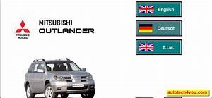 Mitsubishi Outlander Workshop 2007 Service Manual