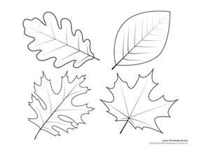 leaf templates leaf coloring pages for leaf printables