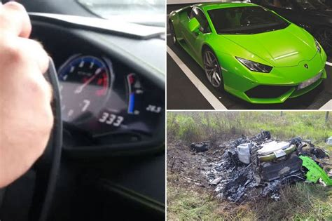 crashed lamborghini huracan lamborghini huracán crash at 200mph well that didn 39 t take