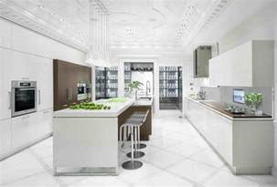 white kitchen idea shades of white kitchen