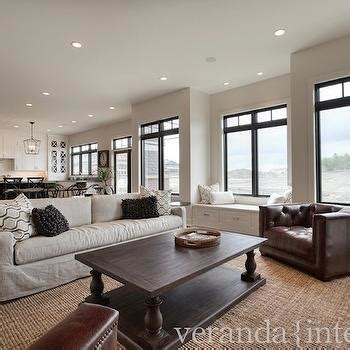 Fabulous Open Plan Living Rooms With A View by Restoration Hardware Coffee Table Transitional Living