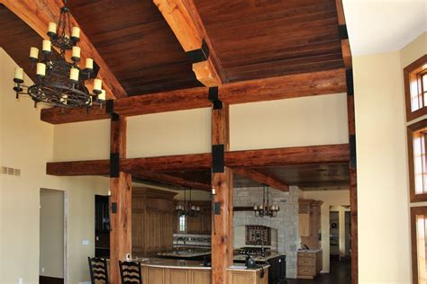 rustic reclaimed beams historic timber  plank