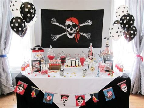 Pirate Party Jaden Is 6! Chickabug