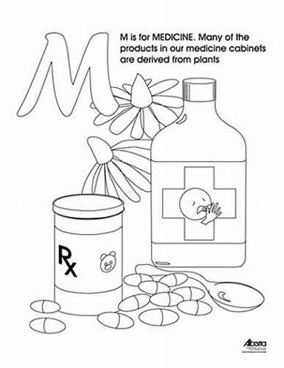 Medicine Coloring Colouring Agriculture Nsf Agric Www1