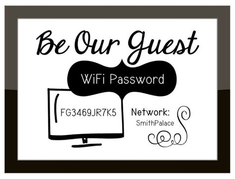 Funny Wi-fi Network Password Sign / Guest Room Office Hot Bread Kitchen Affinity And Bath Buy Sink Diy Countertops Outdoor Bbq Kitchens Cookware Tasty Gardena Ca U Shape