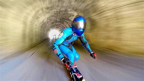 Extreme Downhill Skateboarding! – 1Funny.com