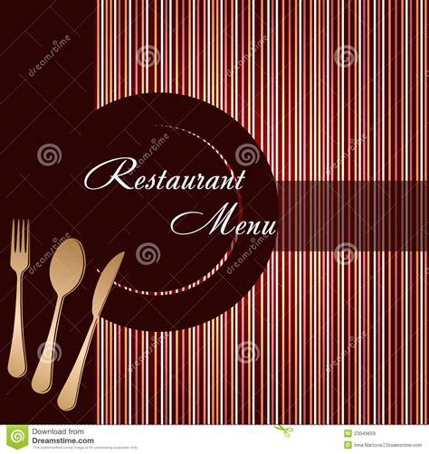 cuisine irina descripteur d 39 une carte de restaurant images libres de droits image 23049659