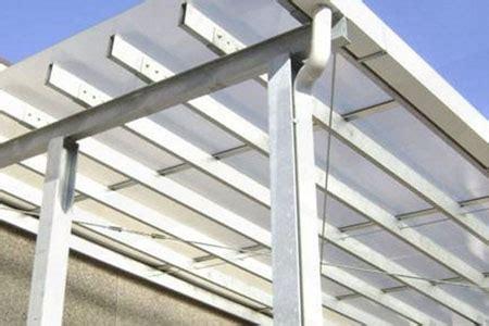 tettoie in policarbonato fai da te arredo giardino vendita diretta policarbonato alveolare a