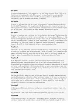 Oliver Twist Resume Francais by Resumen Oliver Twist Es Una Novela Escrita Por Charles