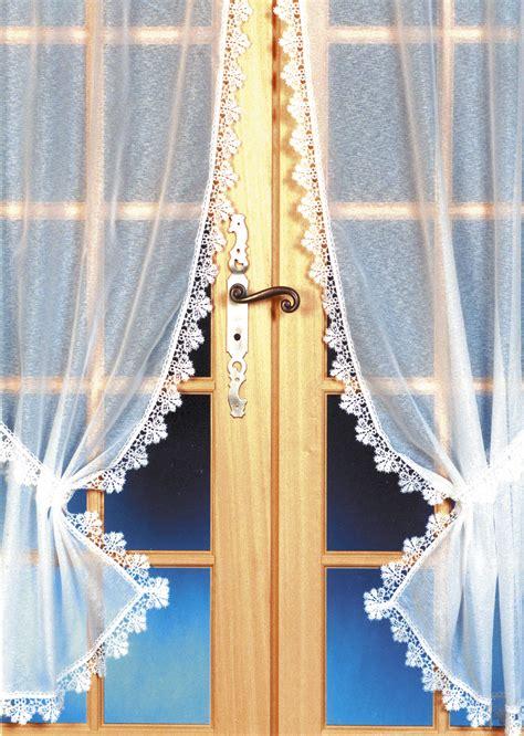 rideau bonne femme fond sabl 233 blanc homemaison vente en ligne petits voilages vitrages