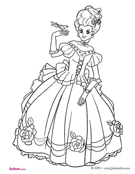 dessin de fille coloriage de fille imprimer gratuit
