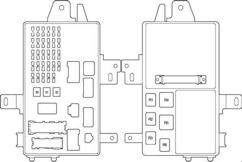 2001 Toyotum Fuse Box Diagram by Toyota Camry 2001 2006 Fuse Box Diagram Auto Genius