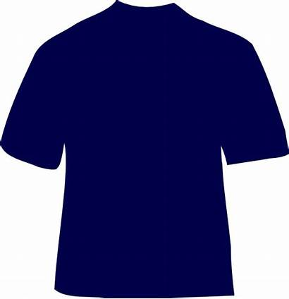 Shirt Tshirt Navy Template Outline Clipart Clip
