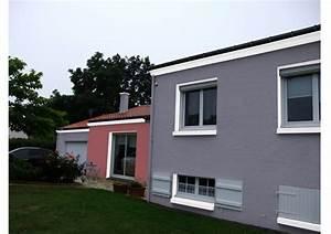 Peinture Facade Maison : peinture d coration fa ade 44 nantes ~ Melissatoandfro.com Idées de Décoration