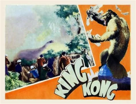 King Kong 1933 Lobby Card Style 3 (With images) King