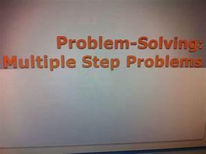 Strip Diagram 4th Grade Multi Step Math
