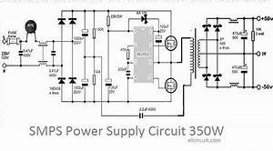 350w smps power supply circuit smps power supply With power supply circuitscircuit schematics diagrams and projects