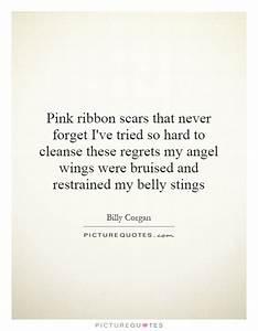 Pink ribbon sca... Ribbon Quotes