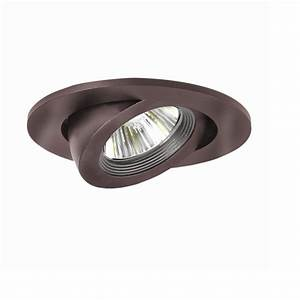Halo in tuscan bronze recessed lighting adjustable