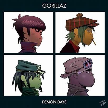 Gorillaz Alternative Rock Demon Days Gifs Giphy