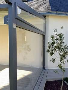 Store Vertical Exterieur Grande Dimension : pergola corradi le mod le iridium toile retractable vos avis ~ Melissatoandfro.com Idées de Décoration