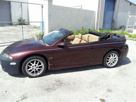 97 Mitsubishi Eclipse Spyder by Buy Used Mitsubishi Spyder Eclipse 97 Convertible