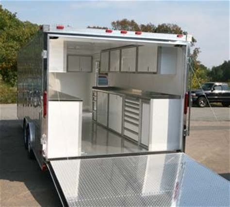 lightweight cabinets for trailers lightweight aluminum storage cabinets tools organization
