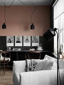 nos astuces en photos pour peindre une piece en deux With idee couleur mur salon