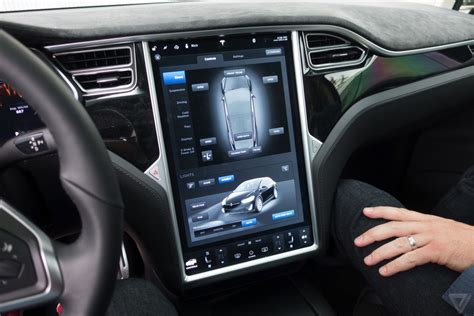 tesla model  multimedia system launch