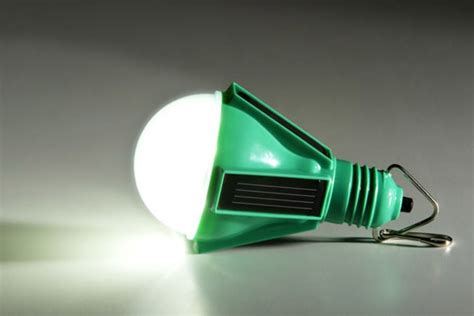nokero solar light bulb uncrate