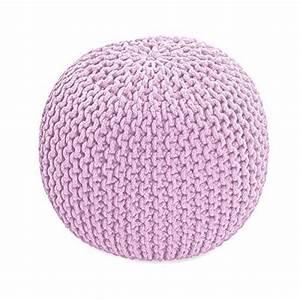 Pouf Pour Salon : le comparatif pouf tricot pour 2018 meubles de salon ~ Premium-room.com Idées de Décoration