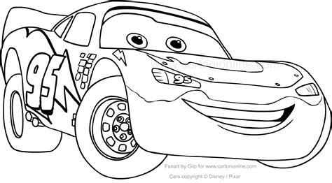 disegni da colorare di cars saetta disegno di saetta mcqueen car da colorare