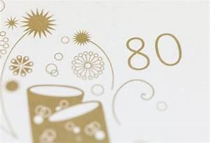 Besinnliches Zum 80 Geburtstag : einladung zum 80 geburtstag ~ Frokenaadalensverden.com Haus und Dekorationen
