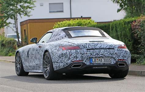 Mercedesamg Reveals Gt Roadster And Gt C Roadster Car