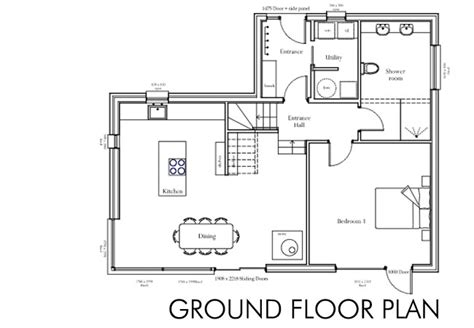 building house plans house plans ground floor house our self build