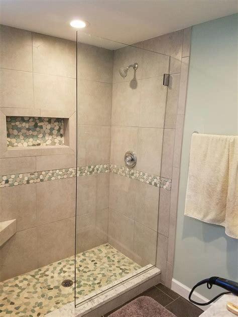 Pebble Tile Bathroom Ideas by Pin By Bob Gordon On Bathrooms Laundry In 2019 Pebble
