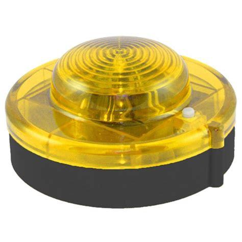 alert portable led emergency roadside flare yellow