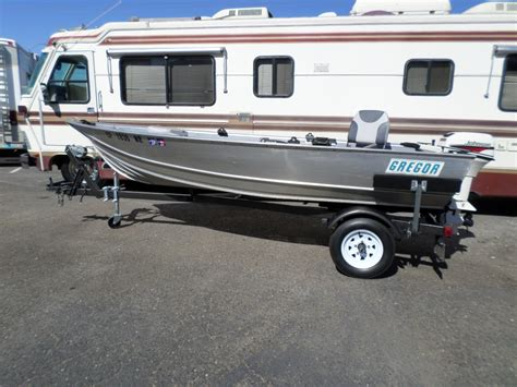 Aluminum Fishing Boats For Sale In Ca by Boat For Sale 1998 Gregor Aluminum Fishing Boat 14 In