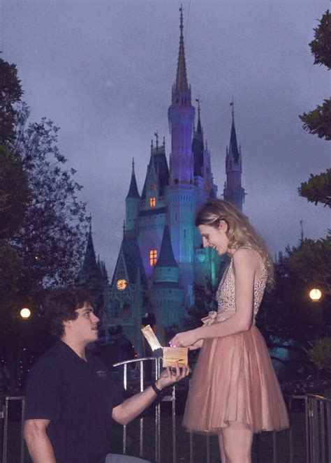 A Magical New Year's Eve Disney Proposal  Weddingbee Photo Gallery