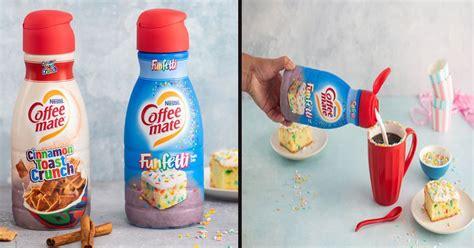 Choose from contactless same day delivery, drive up and sweeten your morning with nestle coffee mate cinnamon toast crunch liquid coffee creamer. Coffee-Mate Is Launching 'Cinnamon Toast Crunch' And 'Funfetti' Creamers - Small Joys