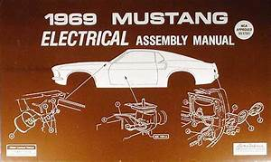 1969 Ford Mustang Chassis Assembly Manual Reprint