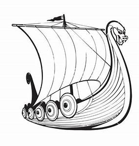 Viking ship vector | Viking Quest | Pinterest | Vikings ...
