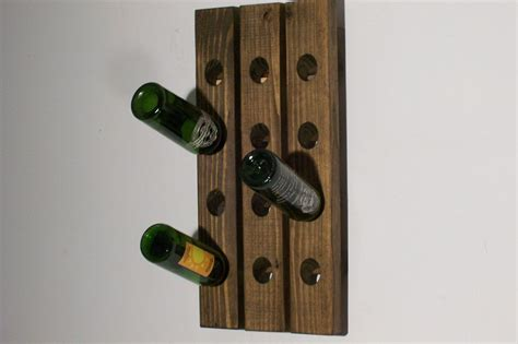 wall hanging wine rack wall wine rack riddling rack handmade wall hanging ebay