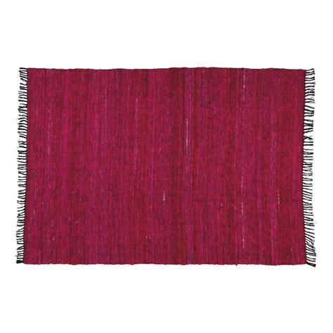 tapis fuchsia cobalt 160x230 maisons du monde